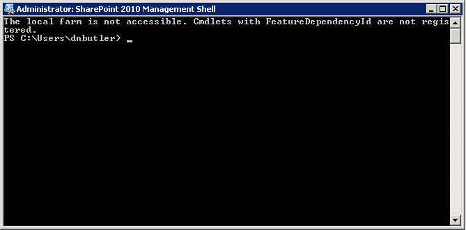 PowerShell 3 Error